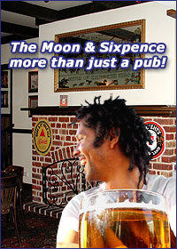 Moon and Sixpence British Pub Perth City