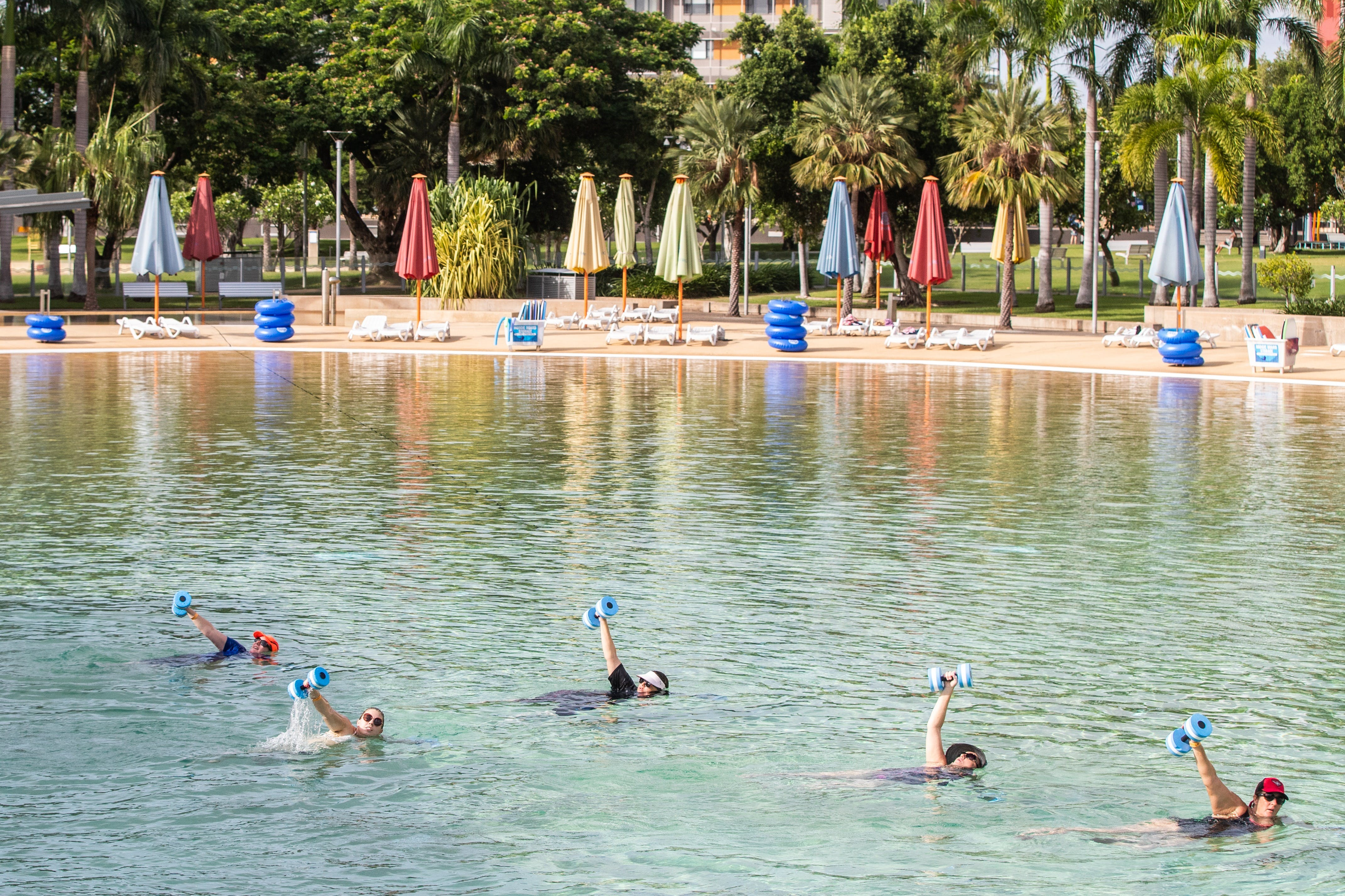 Aqua fitness in the Wave Lagoon - Pubs and Clubs