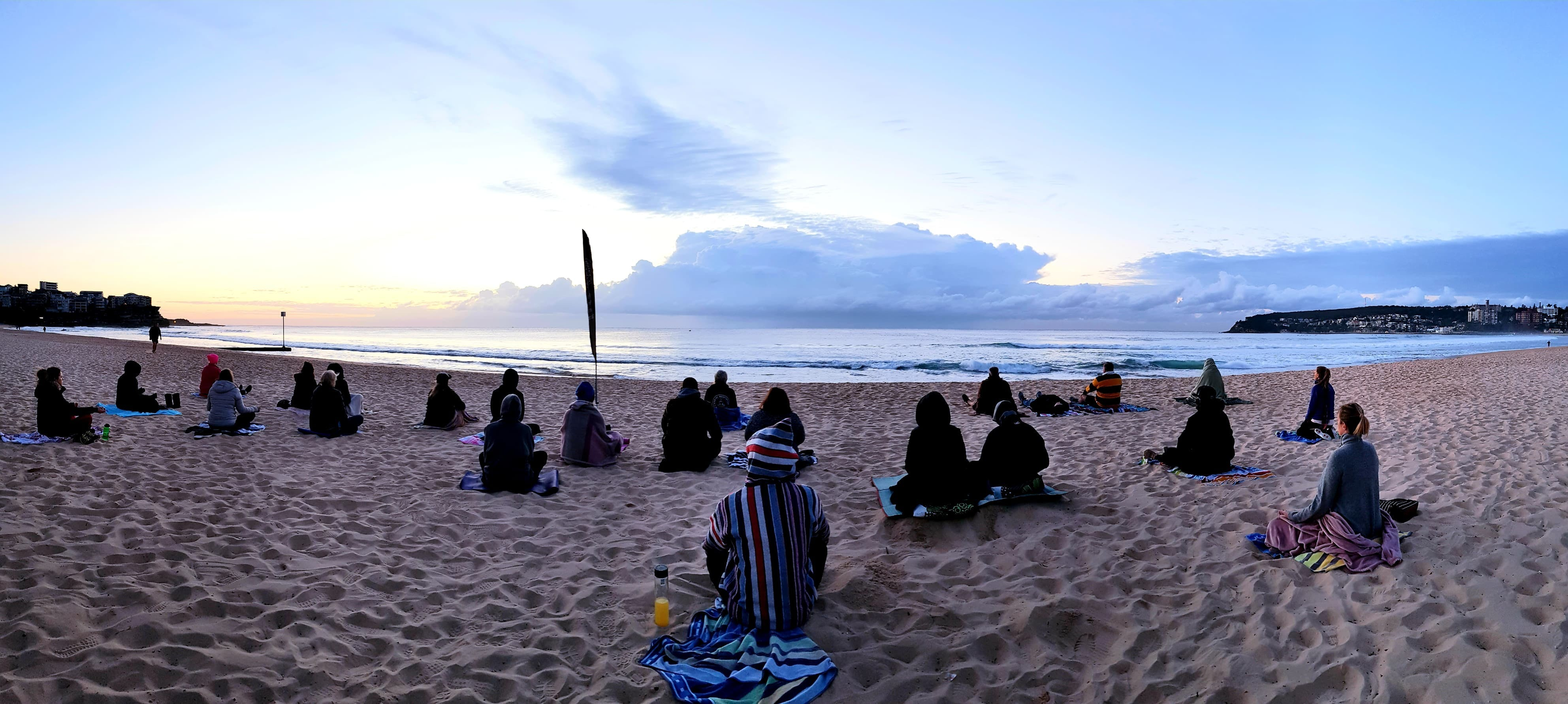 Making Meditation Mainstream Free Beach Meditation Sessions - Avalon Beach - Pubs and Clubs