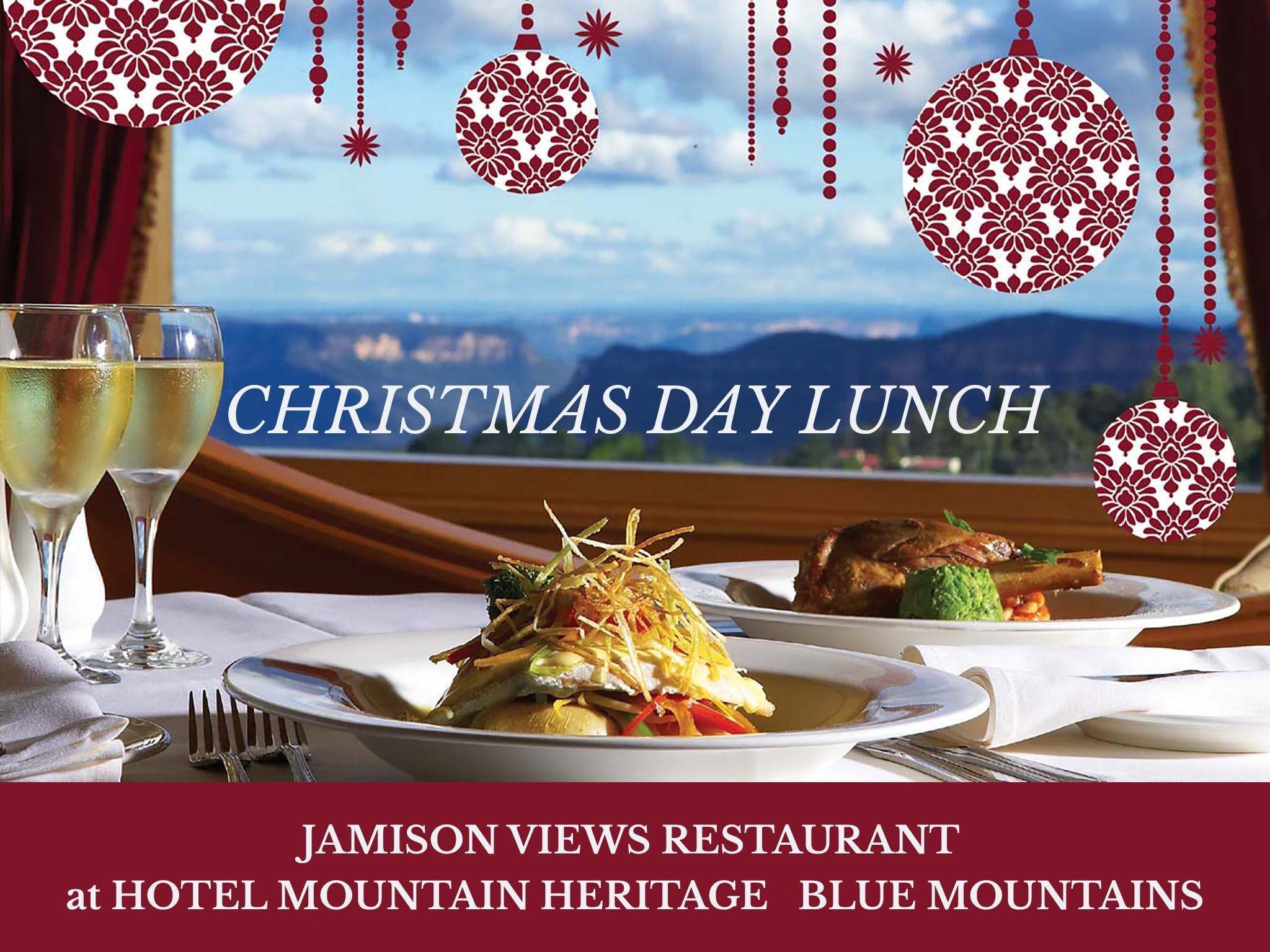 Christmas Day Lunch Hotel Mountain Heritage - Pubs and Clubs