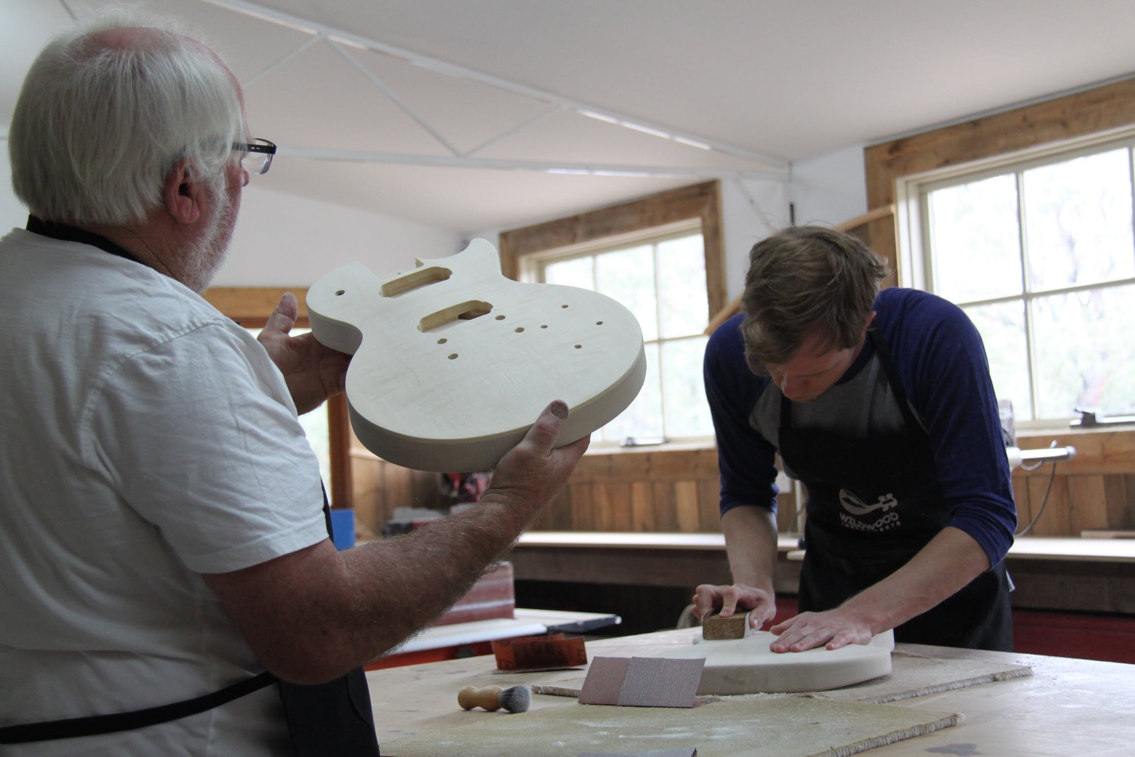 Electric Guitar Making Courses - Pubs and Clubs