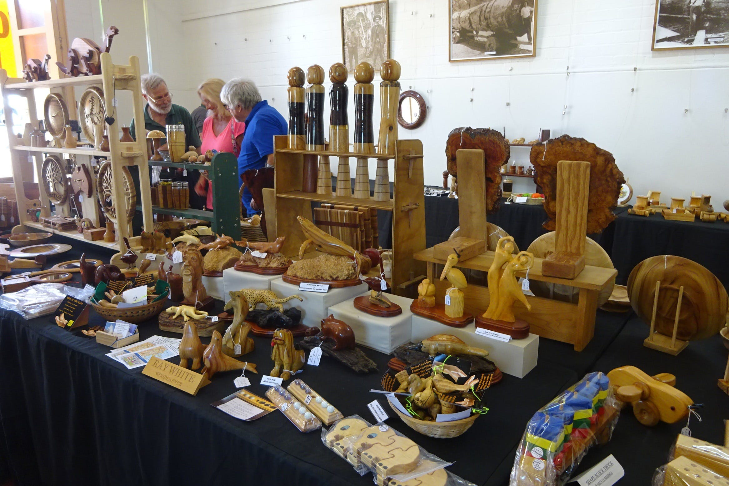 Kiama Woodcraft Group - Exhibition and Sales - Pubs and Clubs