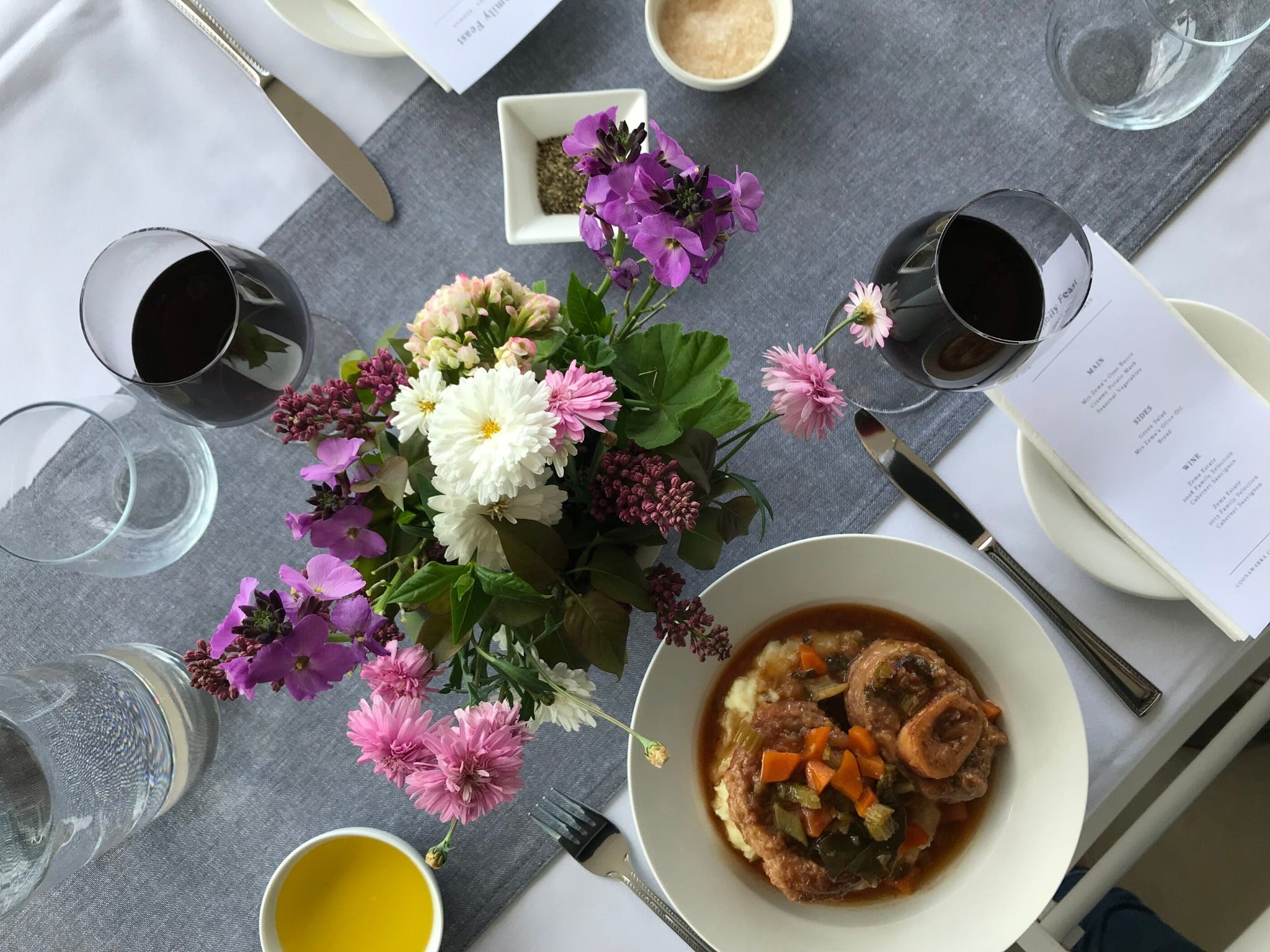 The Family Feast  Three Coonawarra families three tables three courses. - Pubs and Clubs