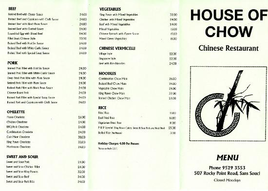 House of Chow - Pubs and Clubs
