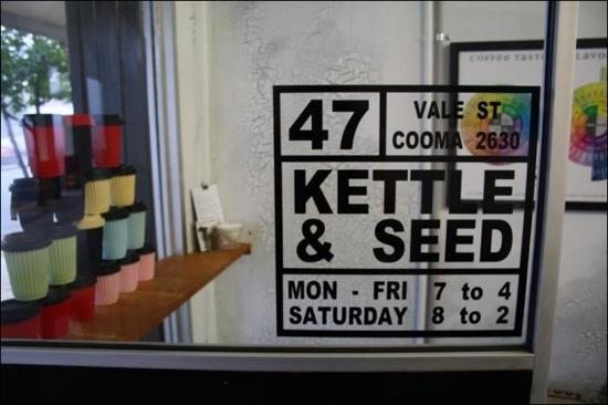 Kettle  Seed Cafe and Coffee Roaster