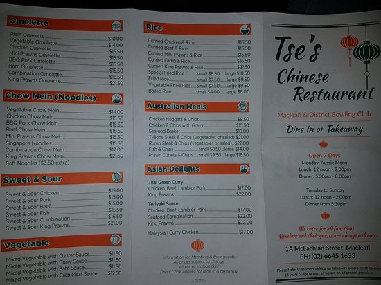 Tse's Restaurant - Pubs and Clubs