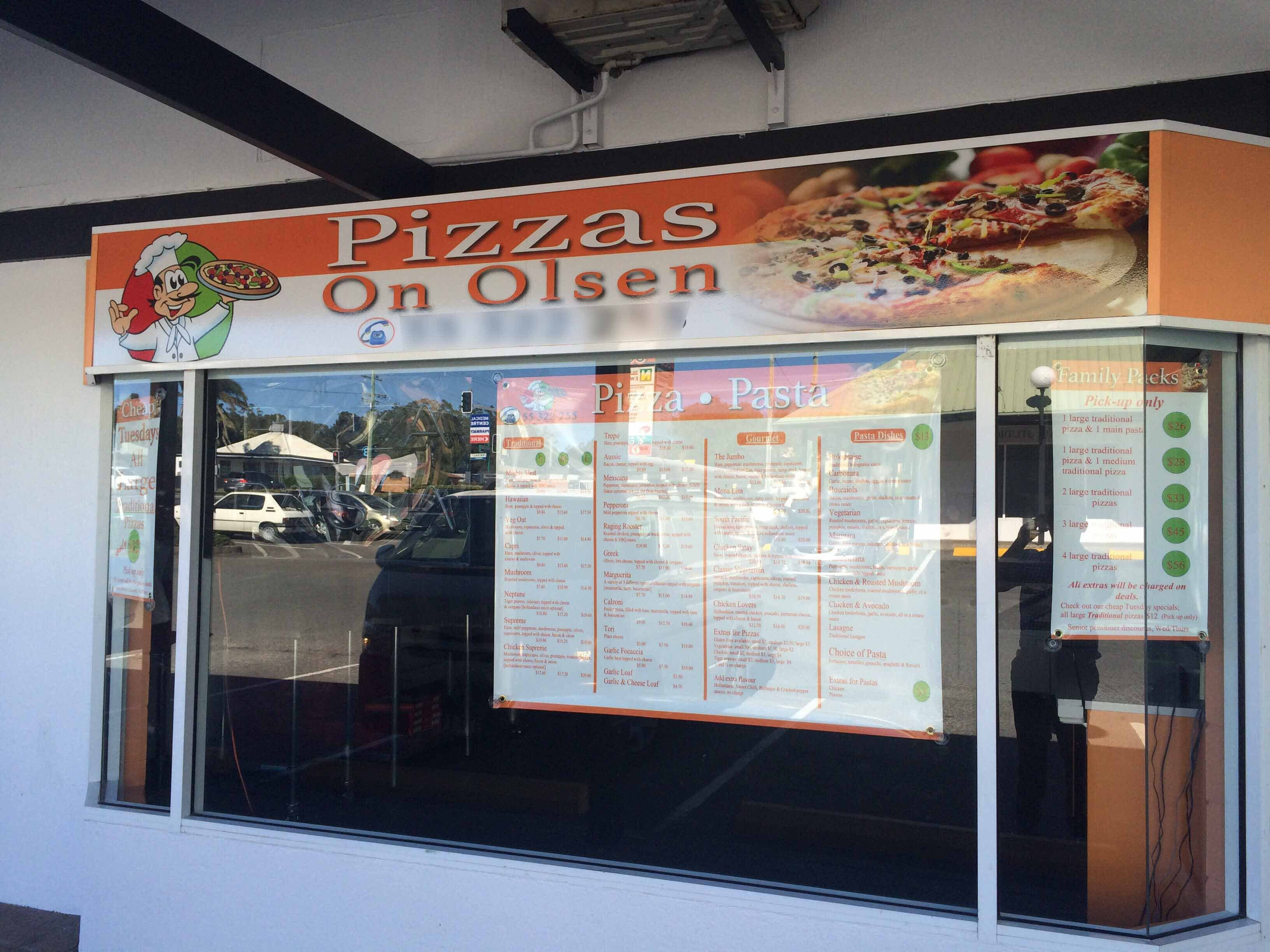 Pizzas On Olsen - Pubs and Clubs