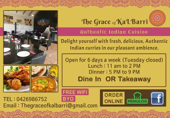 The Grace of Kalbarri Indian Cuisine - Pubs and Clubs