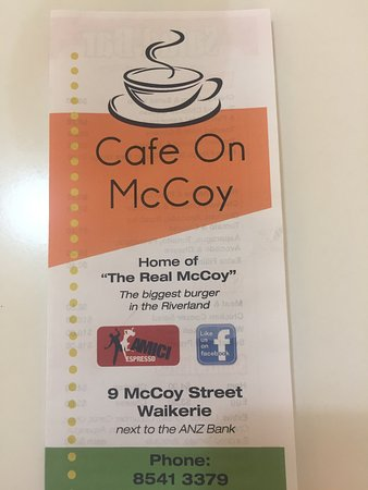Cafe on McCoy